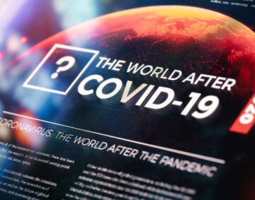 The World After COVID-19 Pandemic Background
